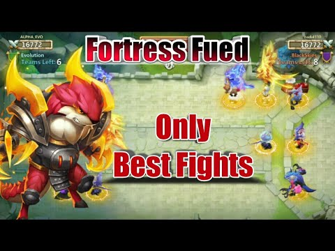 Fortress Fued | Only Good Fights | Best Ever FF | Vs Rank-2 Guild | Castle Clash