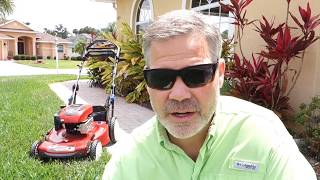 Mowing With The Toro 22