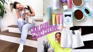 nike haul + new makeup!!       *i promise ill stop doing hauls lol