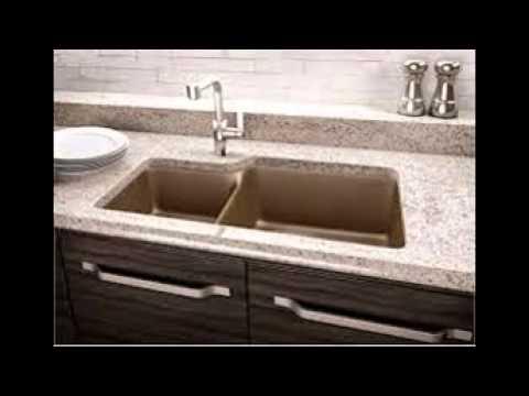 Quartz Composite Kitchen Sinks - YouTube