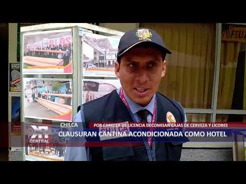 CLAUSURAN CANTINA ACONDICIONADA COMO HOTEL