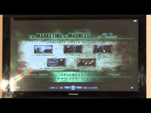 THE MARKETING OF MADNESS - Citizens Commission for Human Rights -HI QUALITY Playback