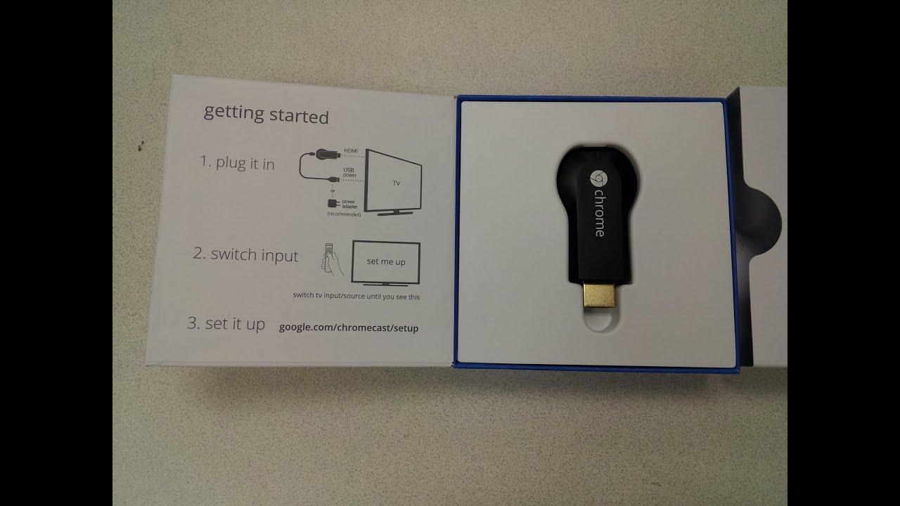 chromecast installeren op tablet