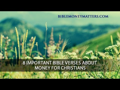 8 Important Bible Verses About Money For Christians
