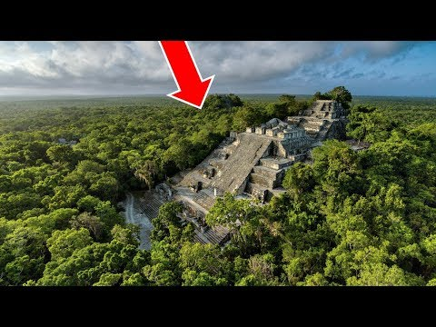 Hidden Ancient Mayan Civilization Discovered in Jungle - Lost Ancient Human Civilization