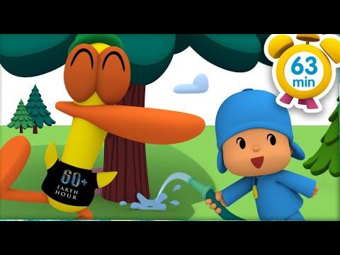 Покойо на русском - Час земли: экономьте воду [ 63 минут ] | Мультфильмы для детей