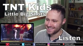 Little Big Shots Philippines Mackie, Keifer & Francis - TNT Kids   REACTION