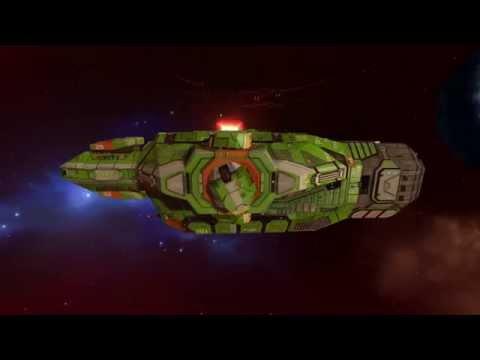 Homeworld Remastered - Heavy Cruiser in 4K Max Graphics