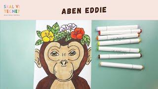 Skal vi tegne Aben Eddie