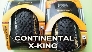 "Continental X-King 27.5""x2.2"" Black Chili Fold - made in Germany - видеообзор от velomoda.com.ua"
