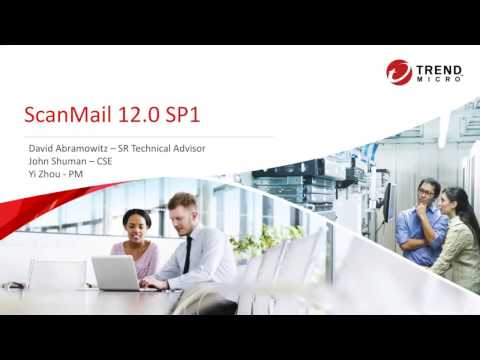 ScanMail for Exchange 12 SP1 Overview