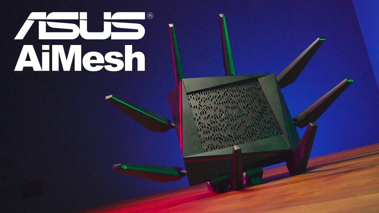 AiMesh: The Fastest and Most Flexible Mesh WiFi