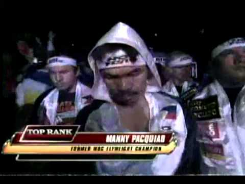 Best Pacquiao Ring Entrance Ever