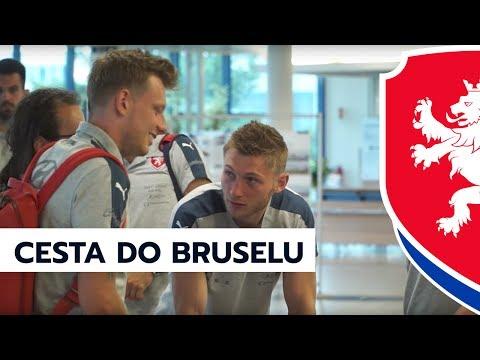 Neděle na červnovém srazu: Cesta do Bruselu a první trénink