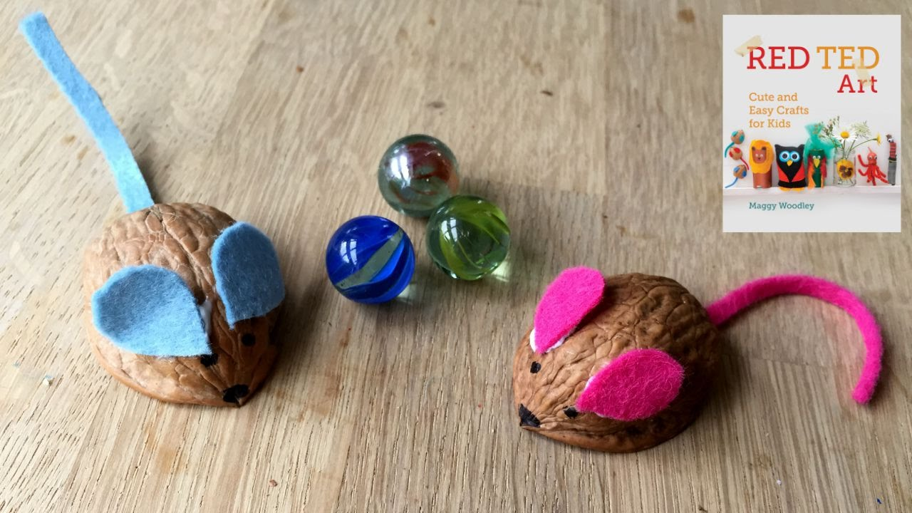How to Make a Walnut Mouse