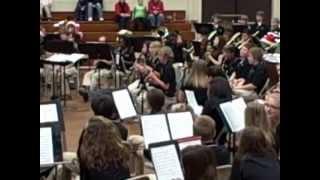 Christmas Portrait - Chicod 7th & 8th Grade Band
