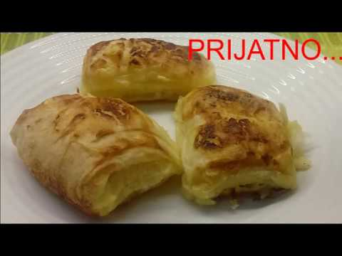 Download Bacon and cheese pie - Pita sa sirom i slaninom