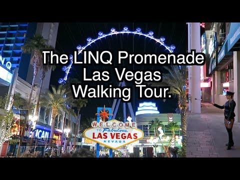 Walking The Linq Promenade Las Vegas 2018