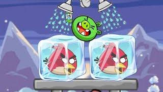 Unfreeze Angry Birds - BREAK ICE CUBE BY DRAWING WATER WAY! RESCUE FROZEN BIRDS!