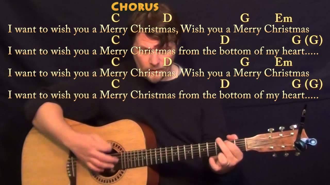 Feliz Navidad G Major Acoustic Guitar Instrumental Jamtrack