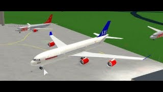 Messing/ Playing around in a Roblox Flight Simulator