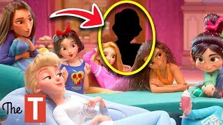 You Wont BELIEVE Which Princesses Are MISSING From The Wreck-It Ralph 2 Sleepover