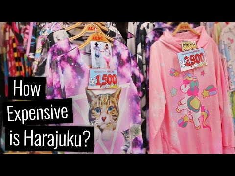 How Expensive is Harajuku?