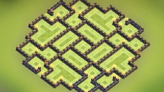 Clash of Clans - Town hall 8.5 (TH8.5) Best Farming Base