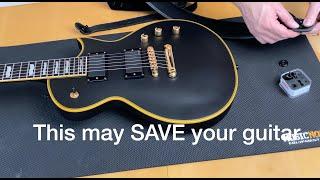 SAVE your guitar - fit strap locks (Schaller S-Locks)