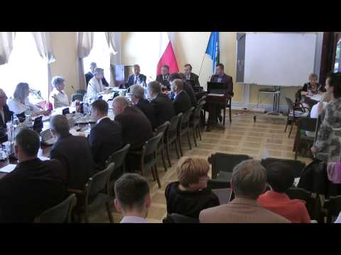Przerwane obrady Rady Miejskiej w Łowiczu