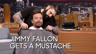 Jimmy Fallon Gets a Mustache thumbnail