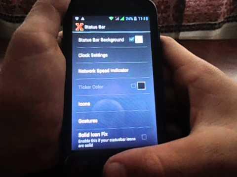 Как сделать статус бар прозрачным android