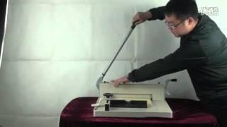 858A4 Desktop manual paper cutter,paper cutting machine,guillotine,maual paper cutter guillotine