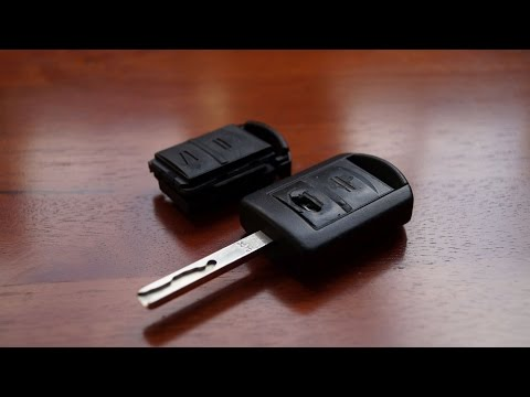Opel Remote Key - Buttons and Case Replacement