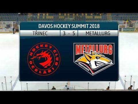 2018 Davos Hockey Summit: Ocelari Trinec - Metallurg Magnitogorsk