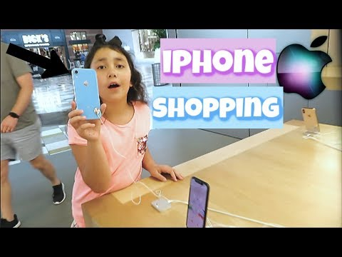iPhone XS MAX Shopping at Apple Store