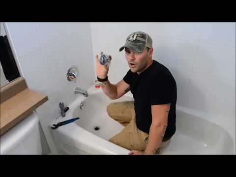 How to Replace a Bathtub Drain  YouTube