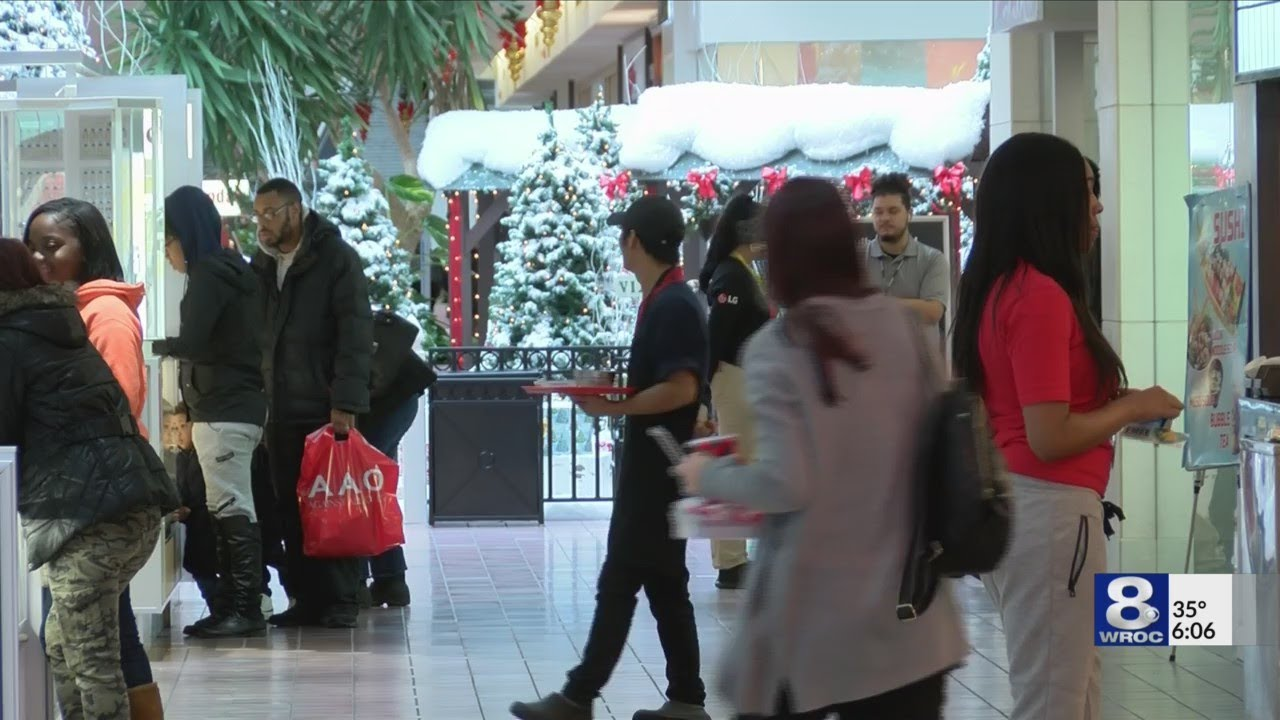 ca35eb2e17 Shoppers gear up for Black Friday, holiday shopping season - YouTube
