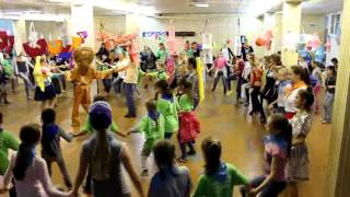 Новый год круглый год, разучивание еврейского танца №2