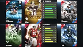 BEST DRAFT FOUR LEGENDS ROUNDS! Madden 16 Draft Champions Full Draft!