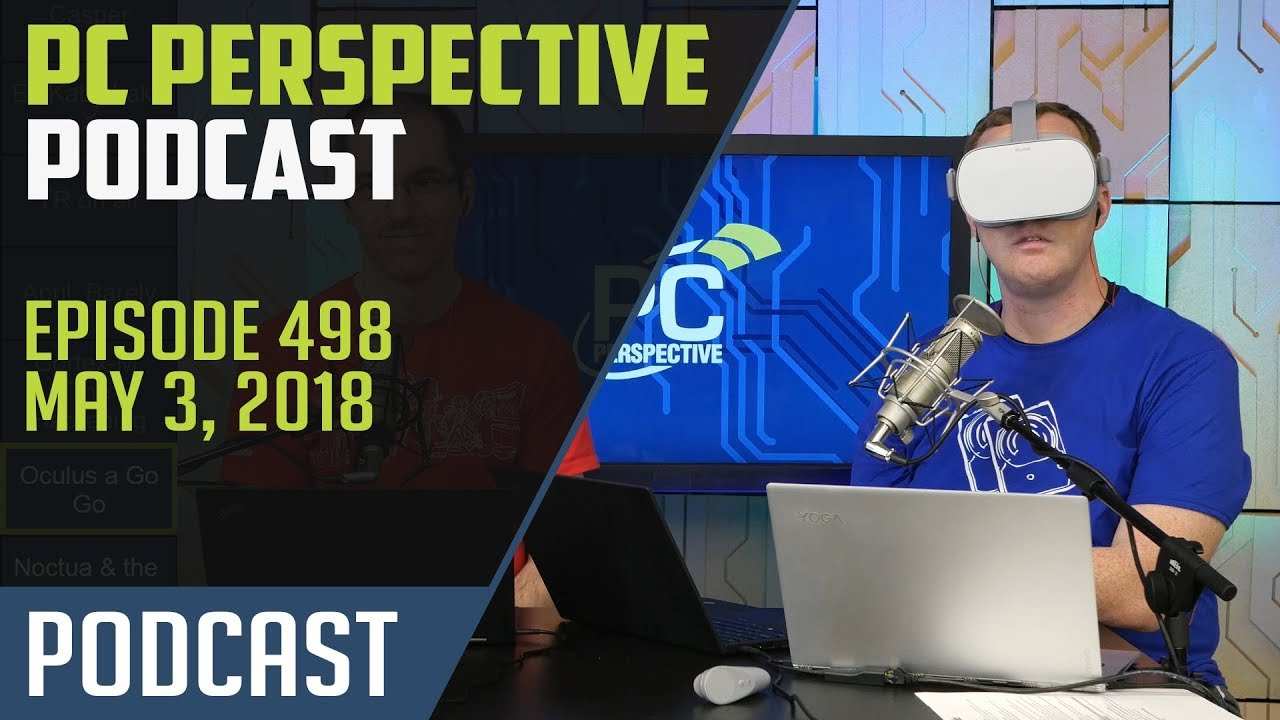 Podcast #498 - Microsoft Surface Book 2, Intel 905P Optane, and more!