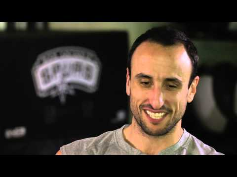 Manu Ginobili Discusses Fatherhood with Kristen Ledlow on NBA Inside Stuff