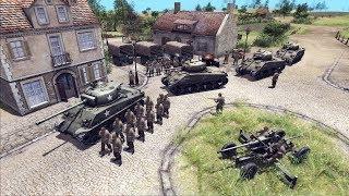 Ultimate WWII Realism Mod Returns   RobZ 1.26.0   Men of War: Assault Squad 2 Gameplay
