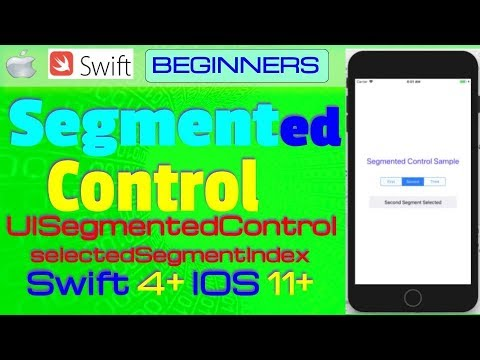 Tutorial: how to build a custom segmented control in swift.