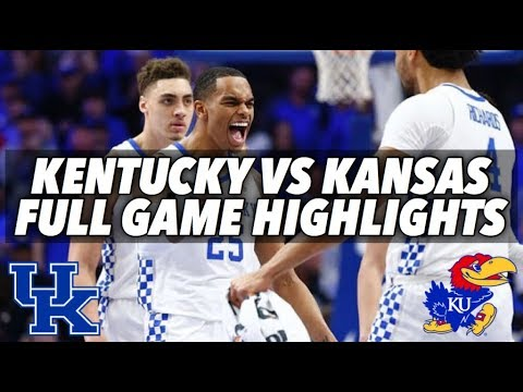 KENTUCKY VS KANSAS - FULL GAME HIGHLIGHTS