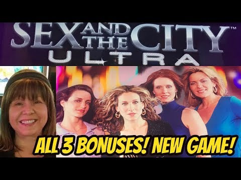 NEW-ALL 3 BONUSES-SEX AND THE CITY ULTRA