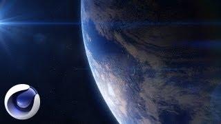 Создание планеты Земля в Cinema 4D