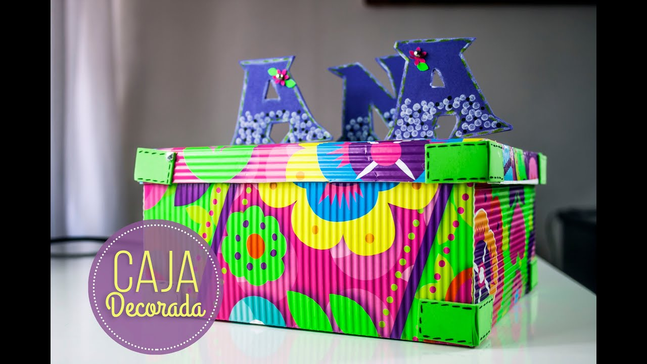 Cajas de carton corrugado decoradas corrugated cardboard decorated youtube - Como hacer cajas decorativas ...