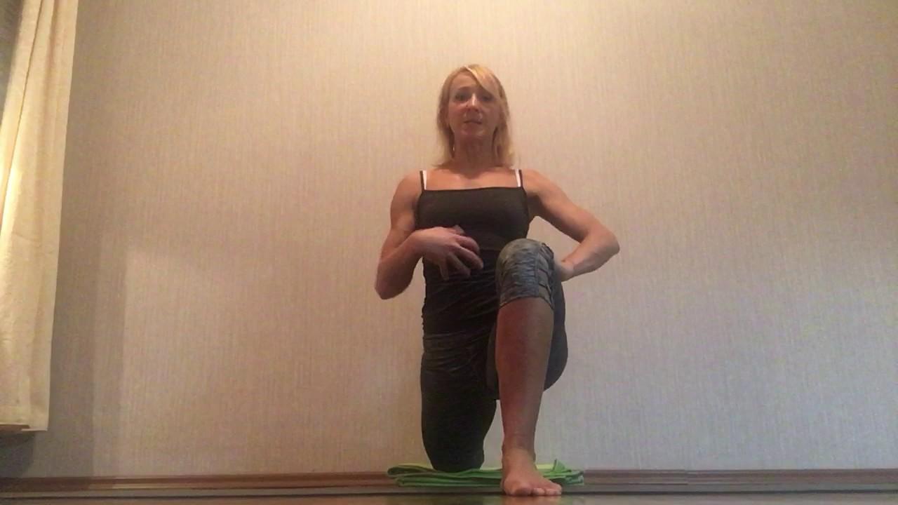 Noga Yoga - kurze Dehnsequenz für Schulter & Hüfte - YouTube