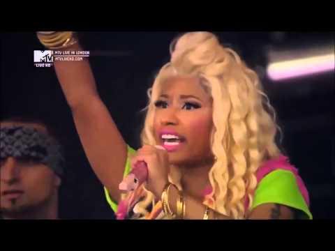 Nicki Minaj - Monster Live at Wireless Festival